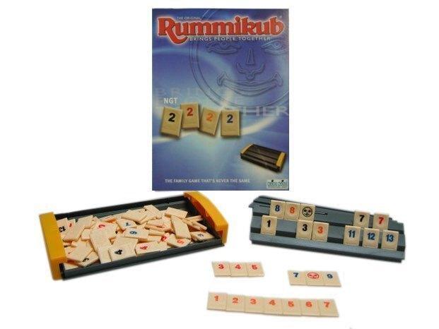 含稅附發票  拉密數字牌旅行版 Rummikub Travel Voyager NGT 方舟風雲會益智桌遊  實體店