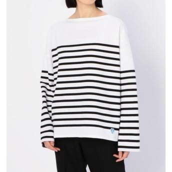 【ビショップ/Bshop】 【ORCIVAL】ラッセルフレンチセーラードロップショルダーTシャツ BLK WOMEN