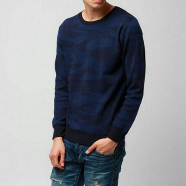 日本BLACK 迷彩樣式保暖含綿長袖上衣