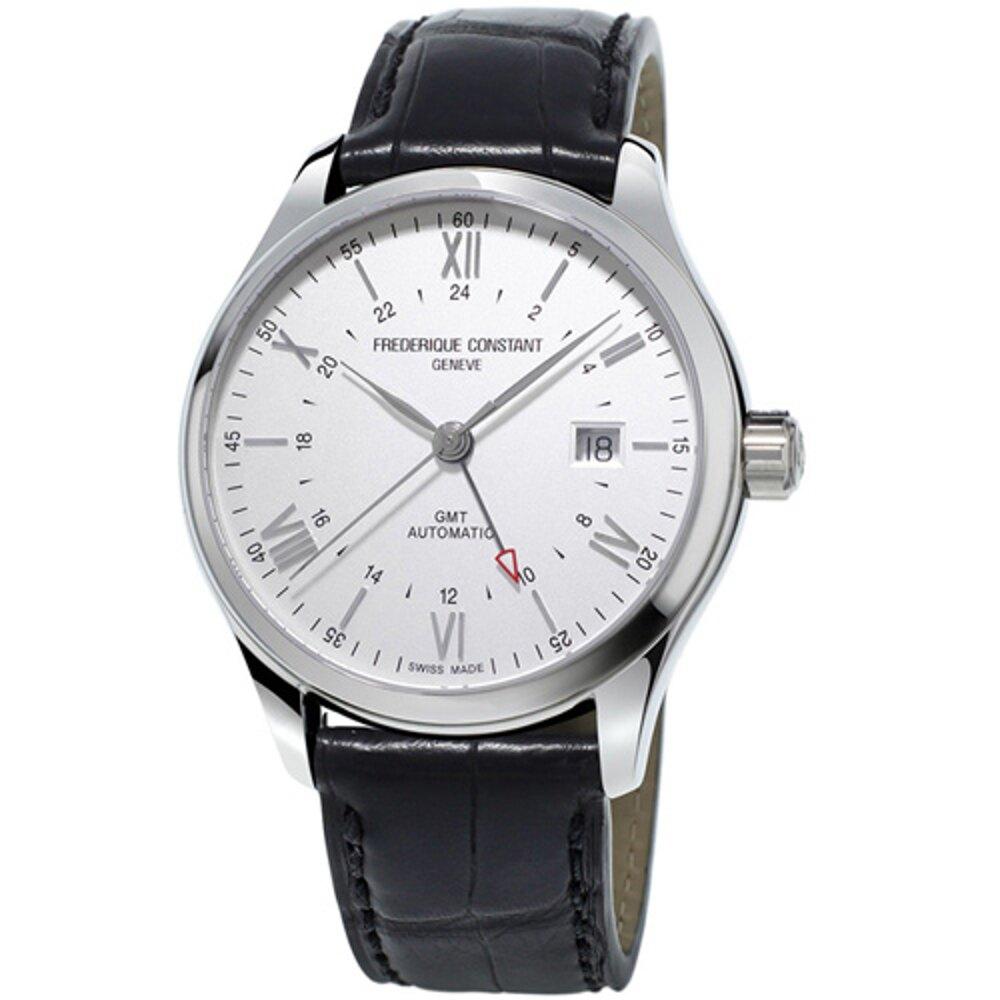 CONSTANT 康斯登錶   CLASSICS百年經典系列INDEX世界時區腕錶    FC-350S5B6