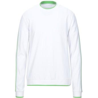 《セール開催中》FUTUR メンズ スウェットシャツ ホワイト M コットン 100%