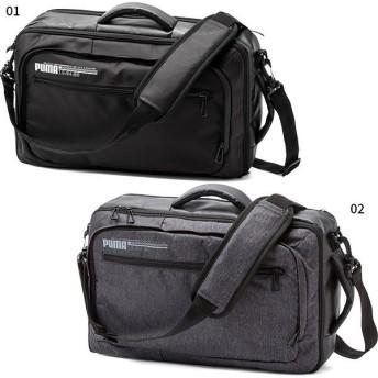 15L プーマ メンズ エナジー 2 WAY ワーク バッグ ショルダーバッグ 肩掛け 鞄 リュックサック ビジネスバッグ 075981