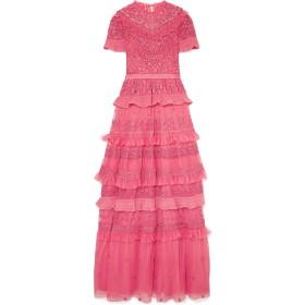 《セール開催中》NEEDLE & THREAD レディース ロングワンピース&ドレス フューシャ 10 ナイロン 100% / コットン