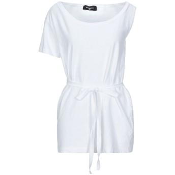《セール開催中》DSQUARED2 レディース T シャツ ホワイト XS コットン 100%