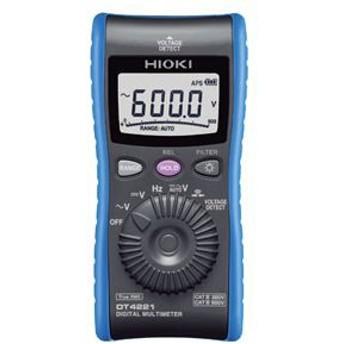 日置電機 デジタルマルチメータ(検電機能付き) DT4221【代引不可】