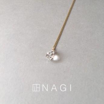 No.705 Crystal drop necklace