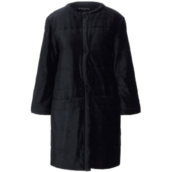 《セール開催中》MAJESTIC FILATURES レディース コート ブラック 1 コットン 58% / レーヨン 42%