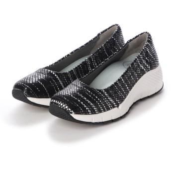 フィットフィット fitfit バレエスニーカーII (ブラックパターン2)
