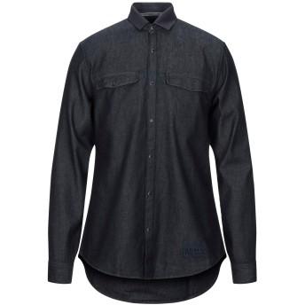 《セール開催中》ARMANI EXCHANGE メンズ デニムシャツ ブルー XS コットン 100%