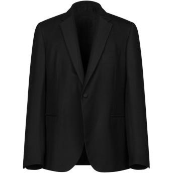 《セール開催中》VERSACE メンズ テーラードジャケット ブラック 58 シルク 100% / ポリエステル