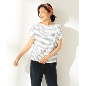 any FAM(エニィファム)/【洗える】リップルボーダー カットソー