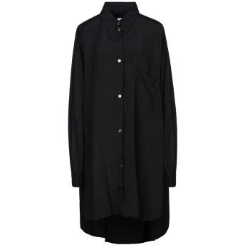 《セール開催中》MM6 MAISON MARGIELA レディース シャツ ブラック 38 レーヨン 100%