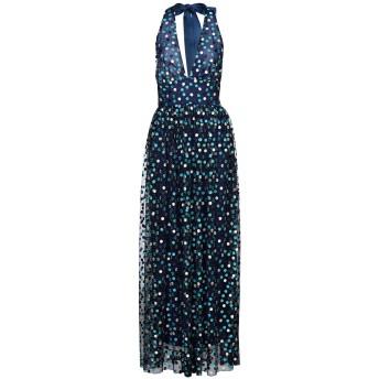 《セール開催中》NORA BARTH レディース ロングワンピース&ドレス ブルー 40 ポリエステル 100%