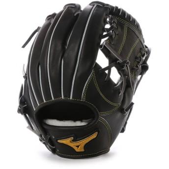 ミズノ MIZUNO BSS ユニセックス 軟式野球 野手用グラブ スピードドライブテクノロジー 1AJGR14003 MZ09 (ブラック)