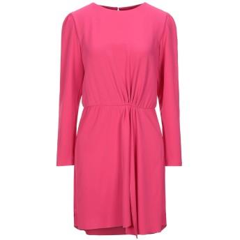 《セール開催中》IMPERIAL レディース ミニワンピース&ドレス フューシャ M コットン 97% / ポリウレタン 3%