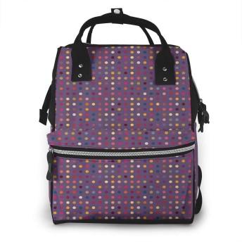 マザーズバッグ リュック フィギュアポルカ ママバッグ ポケット 軽量 大容量 多機能 オムツ替えシート付き 用品収納 通勤 旅行 出産準備