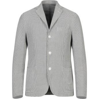 《セール開催中》BOGLIOLI メンズ テーラードジャケット ブラック 48 シルク 67% / コットン 33%