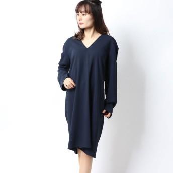 ヴィンス VINCE. ドレス (ネイビー)