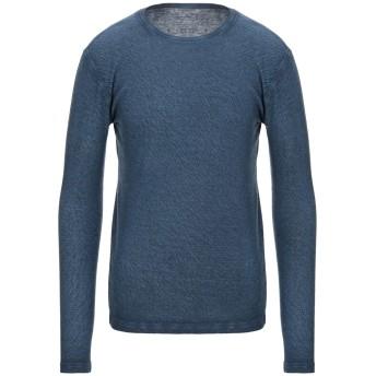 《セール開催中》MAJESTIC FILATURES メンズ T シャツ ブルー M コットン 70% / カシミヤ 30%