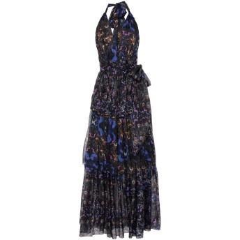 《セール開催中》PHILIPP PLEIN レディース ロングワンピース&ドレス ブラック S シルク 100%