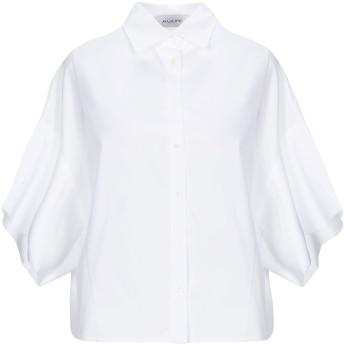 《セール開催中》AGLINI レディース シャツ ホワイト 42 コットン 100%