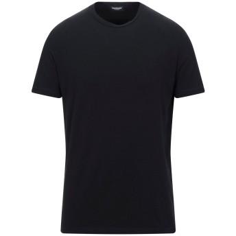 《セール開催中》DSQUARED2 メンズ アンダーTシャツ ブラック S コットン 95% / ポリウレタン 5%