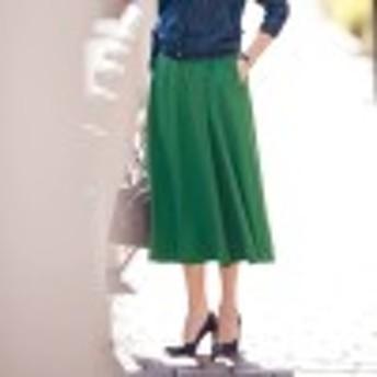 【Bsta】ラップ風フレアスカート