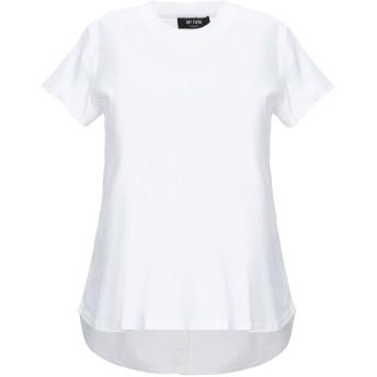 《セール開催中》MY TWIN TWINSET レディース T シャツ ホワイト XXS コットン 100% / ポリウレタン / ポリエステル / キュプラ