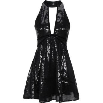 《セール開催中》FREE PEOPLE レディース ミニワンピース&ドレス ブラック 0 ポリエステル 100%