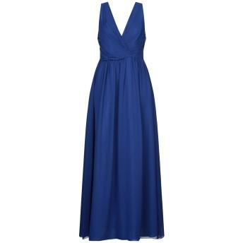 《セール開催中》HOPE COLLECTION レディース ロングワンピース&ドレス ブルー L ポリエステル 100%