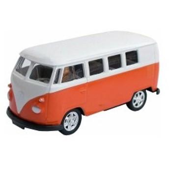 1963年フォルクスワーゲンバスミニカー プルバックカー T1 Bus 1/60 オレンジ
