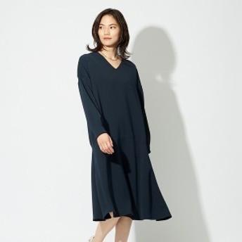 カリテ(qualite)/【店舗限定】anana Vネックフレアワンピース