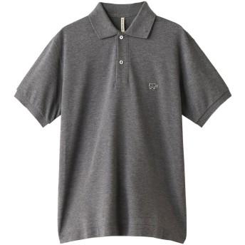 Scye/SCYE BASICS サイ/サイベーシックス メンズ(MENS)グレーソリッドピケポロシャツ トップグレー