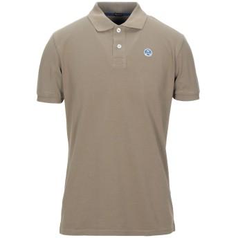 《セール開催中》NORTH SAILS メンズ ポロシャツ カーキ S コットン 100%