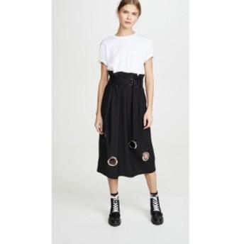 ティビ Tibi レディース スカート Paper Bag Grommet Skirt Black