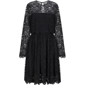 《セール開催中》BLUGIRL BLUMARINE レディース ミニワンピース&ドレス ブラック 46 コットン 74% / ナイロン 26%