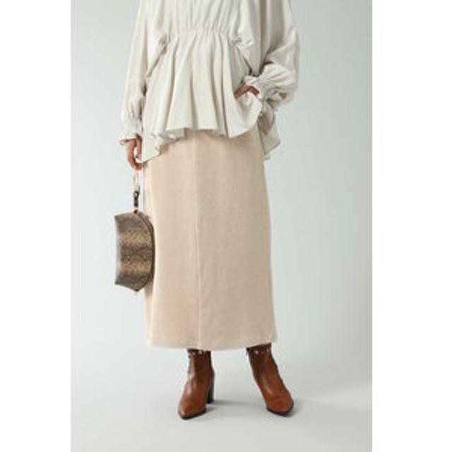 【ROSEBUD:スカート】コーデュロイスカート
