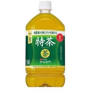【5%OFFクーポン利用可能】【コード:3MNFGPT】 サントリー 緑茶 伊右衛門 特茶 1L ペットボトル 12本入