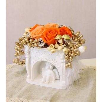 感謝SALE カラー変更などの相談OK 受注作成 画像はイメージです エンジェル 天使 プリザーブドフラワー 誕生日・記念日・お祝い・ウェディング・結婚祝い