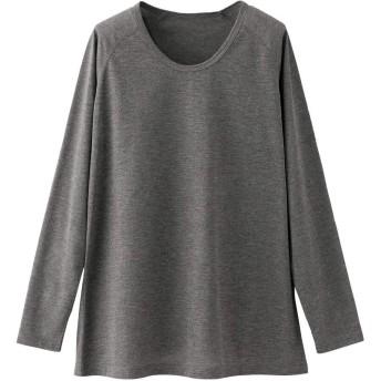 ナースリー 吸汗速乾ヘルパーもくインナー ポロシャツ用インナー 介護 レディース メンズ S 杢チャコール 9581128A