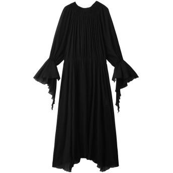 Rito リト 【予約販売】コットンクレープサマードレス ブラック