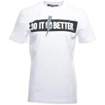 (ハイドロゲン) HYDROGEN クルーネックTシャツ Lサイズ DO IT BETTER [並行輸入品]