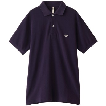 Scye/SCYE BASICS サイ/サイベーシックス メンズ(MENS)コットンピケポロシャツ ネイビー