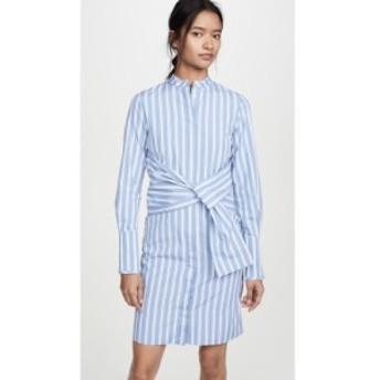 ヴィクトリア ベッカム Victoria Victoria Beckham レディース ワンピース シャツワンピース ワンピース・ドレス Striped Shirt Dress wi