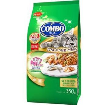 (まとめ)コンボ キャット まぐろ味・かつお節・小魚添え 350g (ペット用品・猫フード)【×12セット】