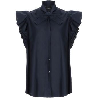 《セール開催中》PINKO レディース シャツ ダークブルー 38 コットン 100%