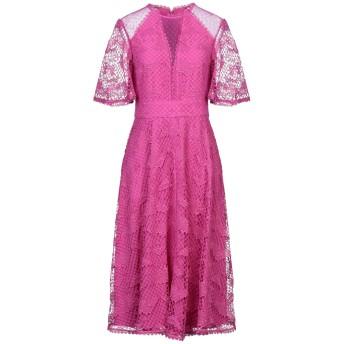 《セール開催中》TEMPERLEY LONDON レディース 7分丈ワンピース・ドレス フューシャ 6 ポリエステル 100% / ポリウレタン