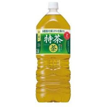 【5%OFFクーポン利用可能】【コード:3MNFGPT】 サントリー 緑茶 伊右衛門 特茶 2L ペットボトル 6本入