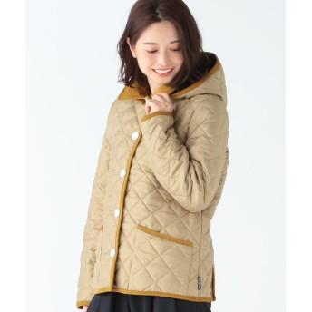 (Demi-Luxe BEAMS/デミルクスビームス)Traditional Weatherwear / 別注 Waverly フード ショートブルゾン/レディース HAZEL/DGRY