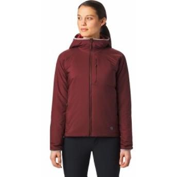 (取寄)マウンテンハードウェア レディース コア ストラタ フーデッド ジャケット Mountain Hardwear Women Kor Strata Hooded Jacket Dar